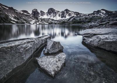 Les tours du Lac d'Allos
