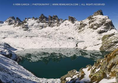 Lac de Montagne en Suisse