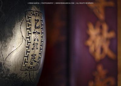 Détails de décorations dans le Temple de la Littérature - Han
