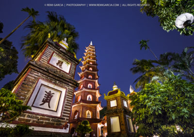 Pagode Trấn Quốc - Hanoï Vietnam